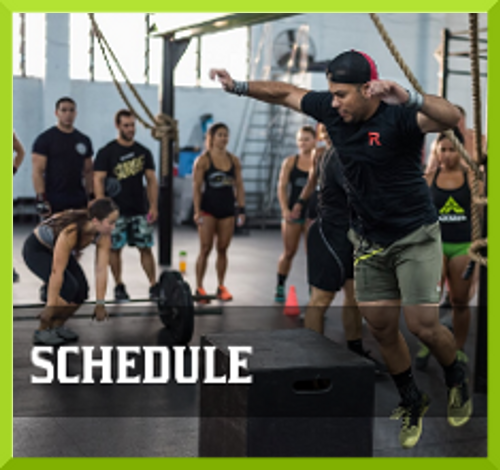 Crossfit Armed Schedules